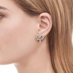 Jeulia Sapling Stud Earrings