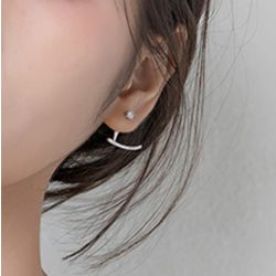 Classic Sterling Silver Ear Jackets