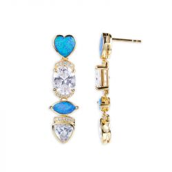 Twinkle Twinkle Opal Earrings
