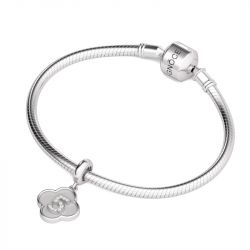 Number Five Charm Sterling Silver