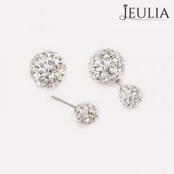Ball Shape Sterling Silver Stud Earrings