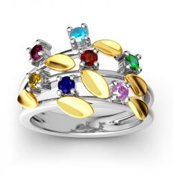 Jeulia Garland Ring