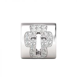 Holy Cross Charm Sterling Silver