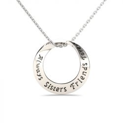 Jeulia Friends Forever Necklace