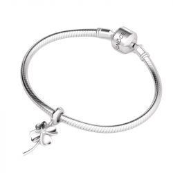 Silver Flower Charm Sterling Silver