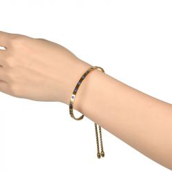 Fashion Yellow Gold Tone Bangle