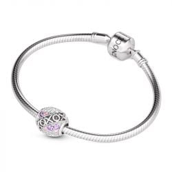 XOXO Kisses and Hugs Charm Sterling Silver
