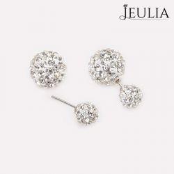 Ball Shape Sterling Silver Stud Earrings
