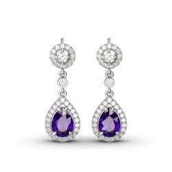 Charming Tear Drop Earrings