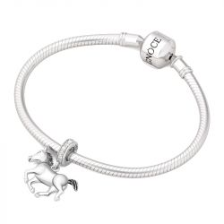 Horse Charm Sterling Silver