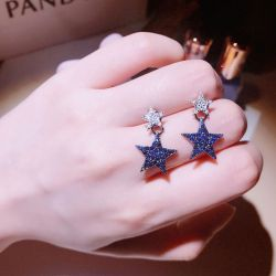 Star Earrings Drops