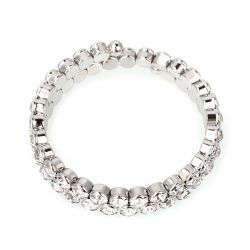 Asymmetric Tennis Bracelet