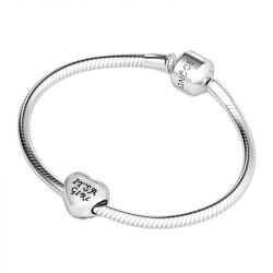It's A Girl Charm Sterling Silver