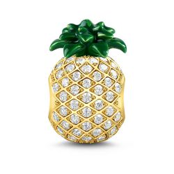 Pineapple Charm Sterling Silver