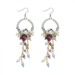 Chandelier Bead Earrings
