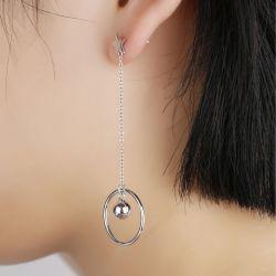 Star Asymmetric Earrings Drops