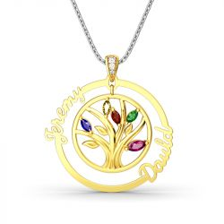 Tree Of Strength And Connection Pendant
