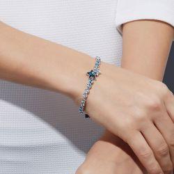 Star Sterling Silver Bracelet