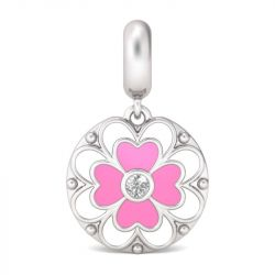 """""""Spring in the air"""" Sterling Silver Flower Charm"""