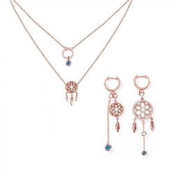Dreamcatcher Sterling Silver Jewelry Set