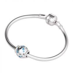 Aquarius Charm Sterling Silver
