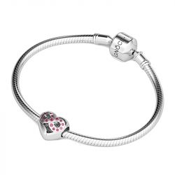 Infinity Love Hollow Charm Sterling Silver