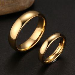 Simple Couple Rings Tungsten Steel