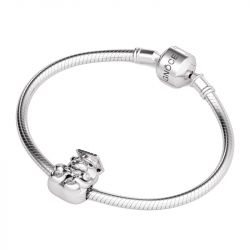 Trencher Cap Bear Charm Sterling Silver