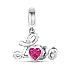 Love In Heart Pendant Sterling Silver