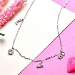 Love Design Zircon Women's Necklace
