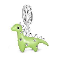 Dinosaur Charm Sterling Silver