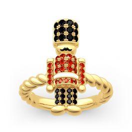 British Royal Guard Inspired Sterling Silver Ring