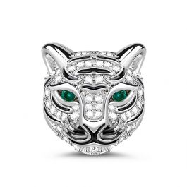 Royal Tiger Sterling Silver Charm