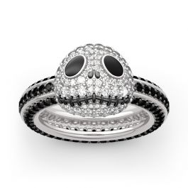 The Nightmare Before Christmas Jack Skellington Sterling Silver Ring