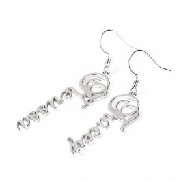 Jeulia Name Personalized Sterling Silver Earrings
