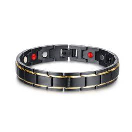 Jeulia Magnetic Men's Bracelet in Titanium Steel(21cm)