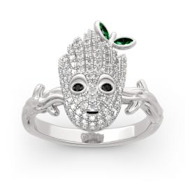 """""""I am Groot"""" Sterling Silver Ring"""