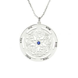 Star Personalized Sterling Silver Necklace