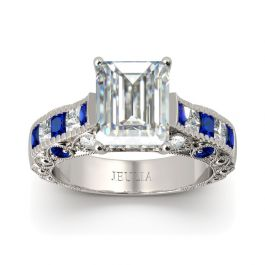 Jeulia Vintage Sterling Silver Ring