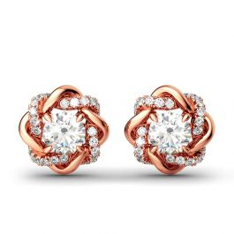 Knot of Love Stud Earrings