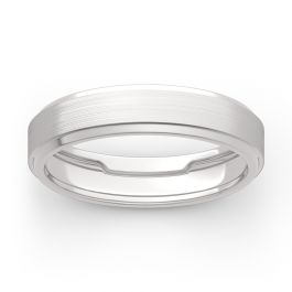 Men's Classic Band in 14K White Gold