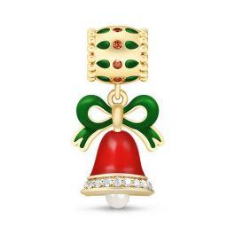 Cute Jingle Bell Pendant Sterling Silver