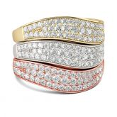 Stacking Sterling Silver Women's Band Set