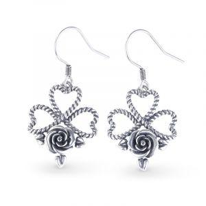 Jeulia Flowering of The Heart Earrings