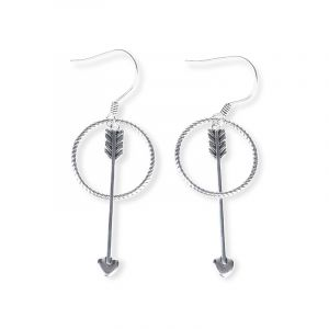 Jeulia Cupid's Arrow Earrings