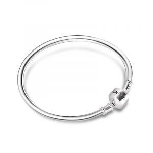 Basic Bangle Bracelet Sterling Silver