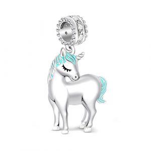 Unicorn Charm Sterling Silver