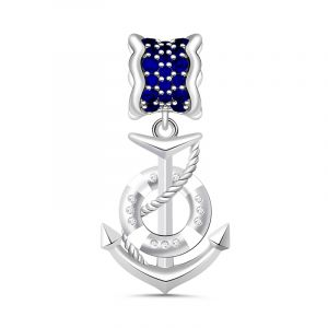 Anchor Charm Sterling Silver