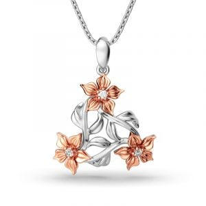 Jeulia Blossoming Necklace