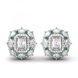 Jeulia Cinderella Stud Earrings